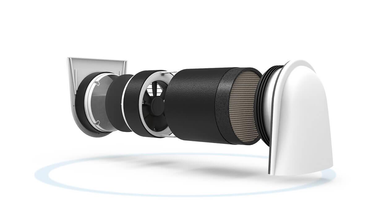 Smartfan Für Dezentrale Lüftung Getair Frischluft Genial Einfach