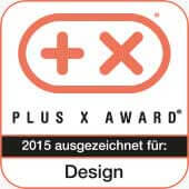 Plus X Award Auszeichnung für Design 2015