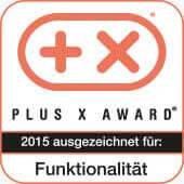 Plus X Award Auszeichnung für Funktionalität 2015