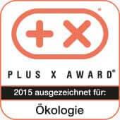 Plus X Award Auszeichnung für Ökologie 2015