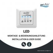 LED Steuerung Montage- und Bedienungsanleitung