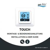 Touch Steuerung Montage- und Bedienungsanleitung