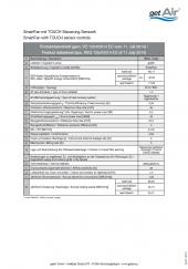 SmartFan Produktdatenblatt