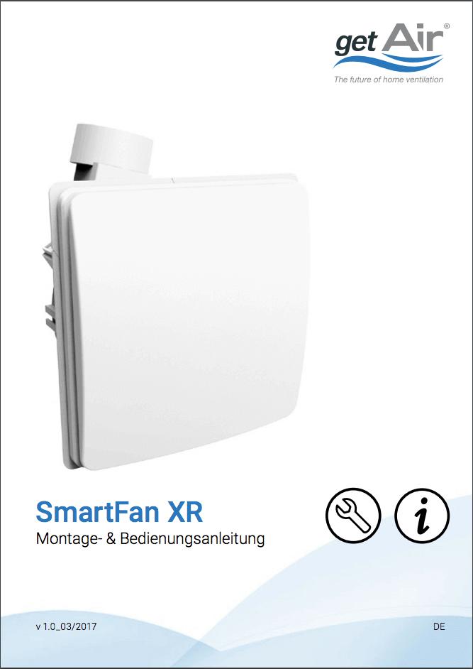 SmartFan XR Montage- und Bedienungsanleitung Cover