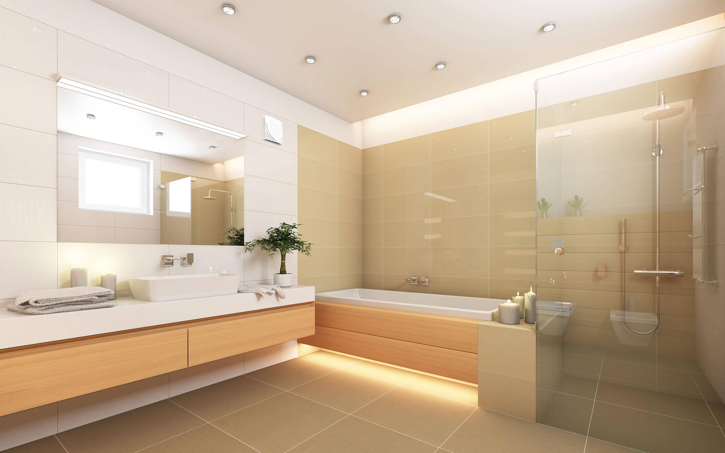 Dezentrale Wohnraumlüftung im Bad – So wichtig ist das Raumklima