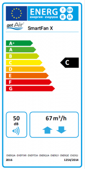 ErP Label – SmartFan X