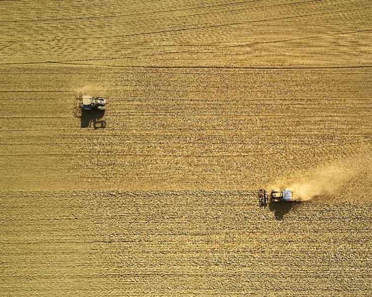 Landwirtschaft sorgt auch für Entstehung von Feinstaub