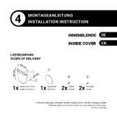 Montageanleitung – Innenblende geschraubt