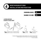 Montageanleitung – Innenblende Kappe