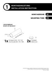Montageanleitung – Montagerohr