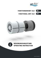 Funktionseinheit ALD – Bedienungsanleitung