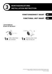 Funktionseinheit Smart – Montageanleitung